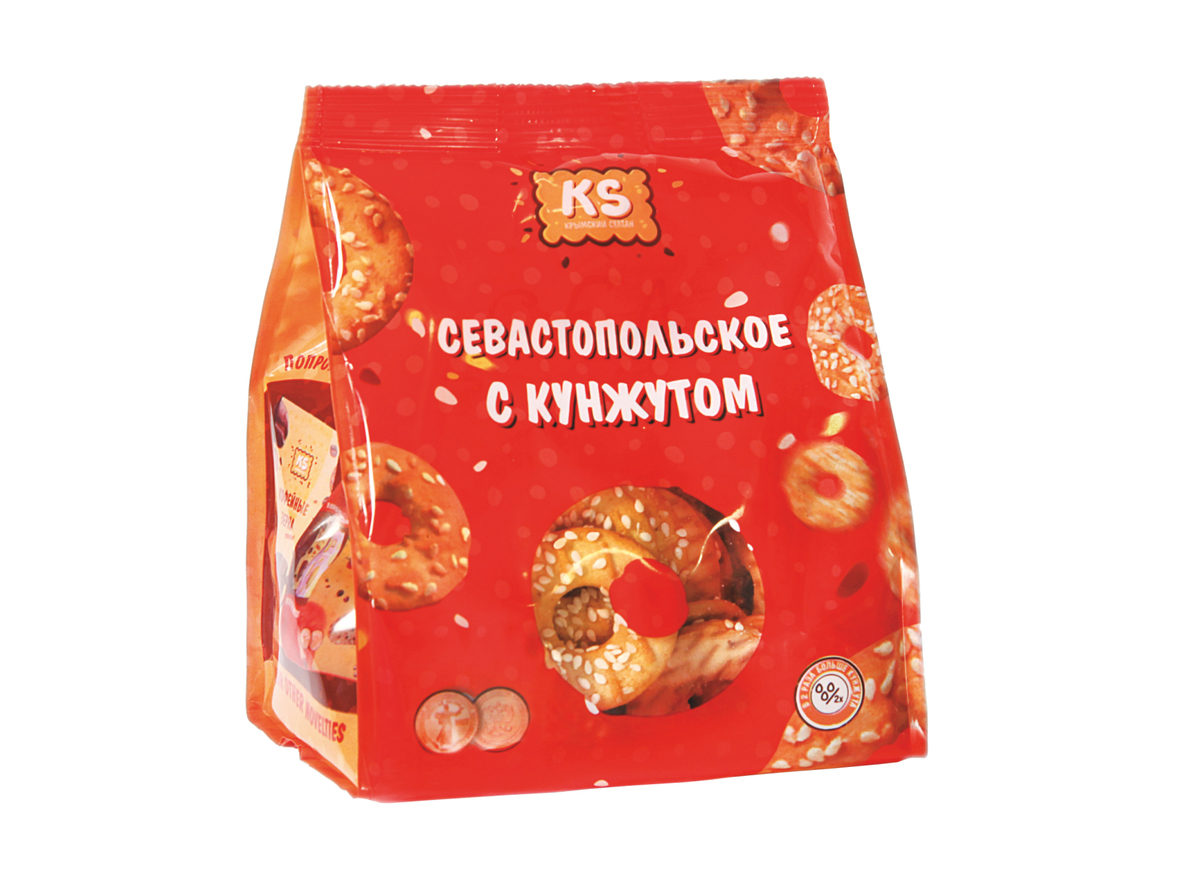 "Sevastopol biscuits with sesame seeds"" (new)"